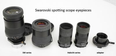 Swarovski spotting eyepieces