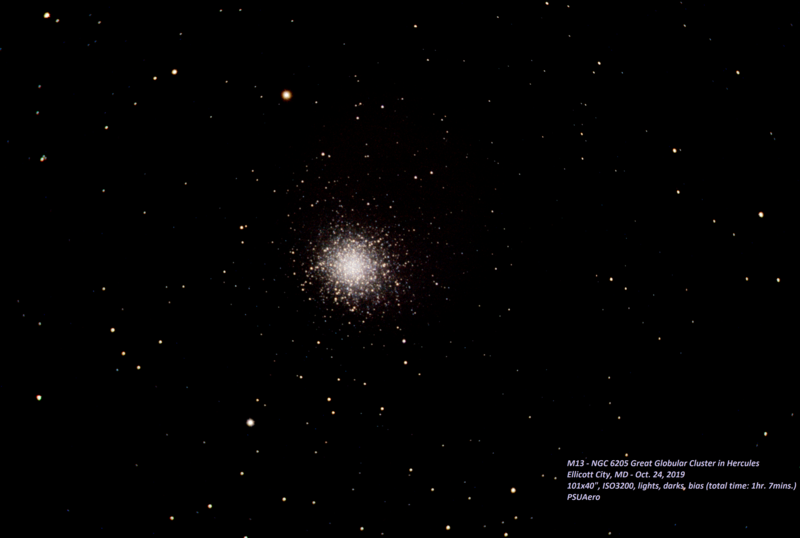 M13 - Great Globular Cluster in Hercules