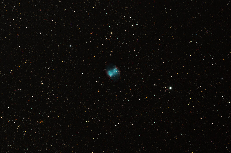 M27 over three nights