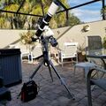 Skywatcher 120ED Pro 120mm/f7.5 on Skywatcher AZ EQ5 GT Mount