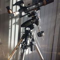 Orion 80ED 600mm f7.5 on a Orion SkyView Pro mount with dual axis drive kit