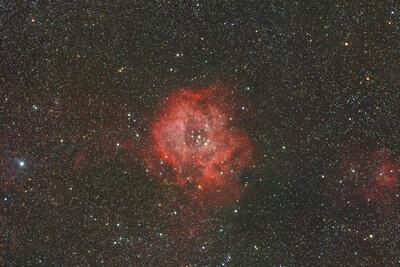Rosette nebula (UNGUIDED)