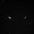 M81 and M82 During Full Moon of April 8, 2020
