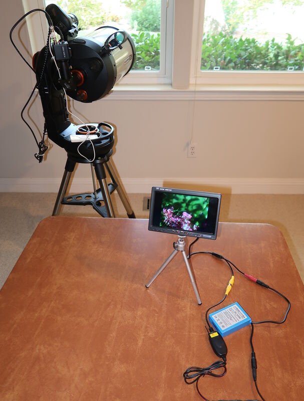 Remote LCD for Revolution Imager