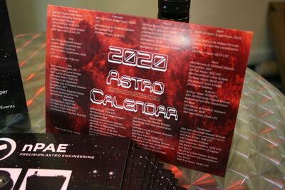 nPAE Astro Calendar