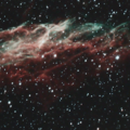 NGC6995 - Supernova Remnant - Cropped and Rotated