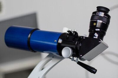 """Meade Infinity 80 with GSO 2"""" single speed focuser"""