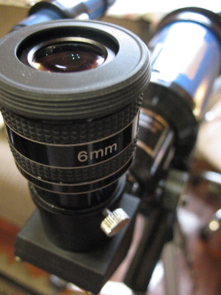 Toya 70 mm f/4.2 with TMB 6 mm eyepiece - 50x