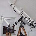 "Comparison Polarex NS-128M with Polarex 5"" Photo-Equatorial telescope from Observatory Maasduinen, Afferden, The Netherlands"