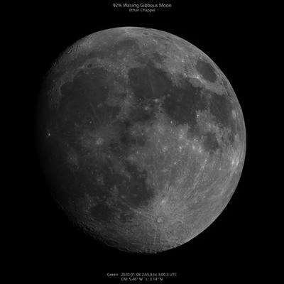 Moon Mosaic January 8, 2020