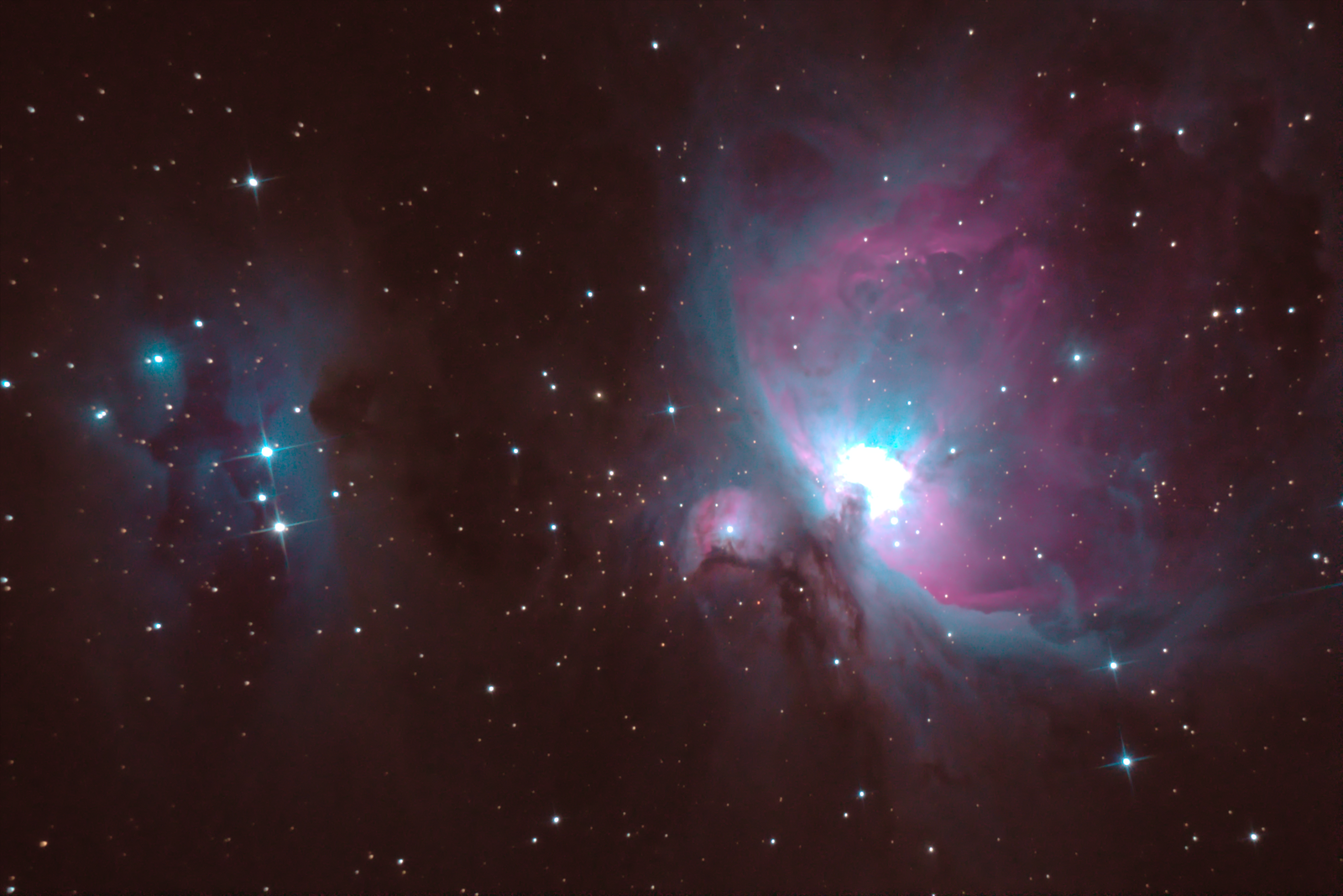 Orion and Running Man Nebula 2020-01-18