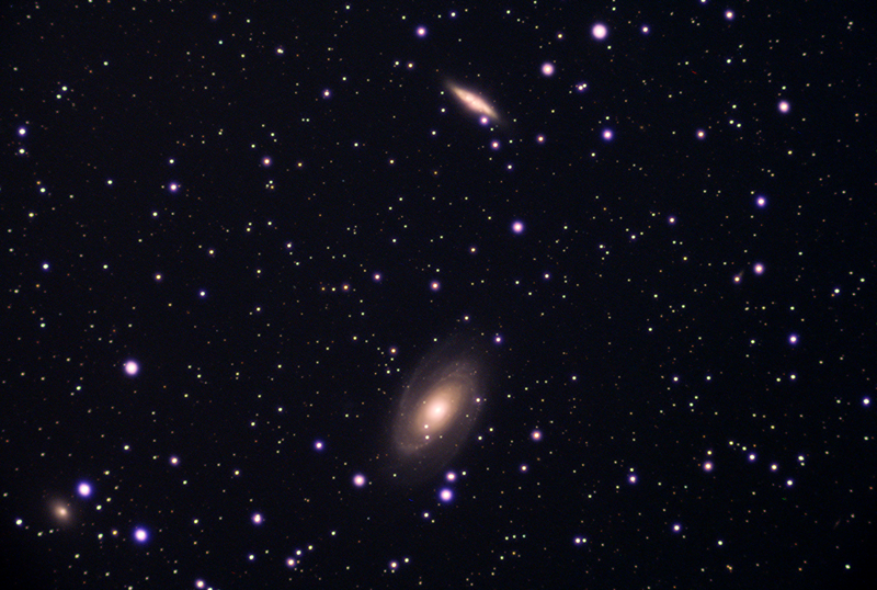 M81 And M82 Stack 186frames 1860s WithDisplayStretch 500mm