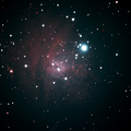 NGC 2264 Stack 80frames 3600s WithDisplayStretch 200mm f6.3