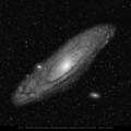 M31, M32, M110, The Andromeda Galaxy Group with a TSAPO65Q, 420mm f.l.