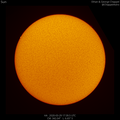 First Hα Solar Image