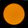 Sun with a few small filaments