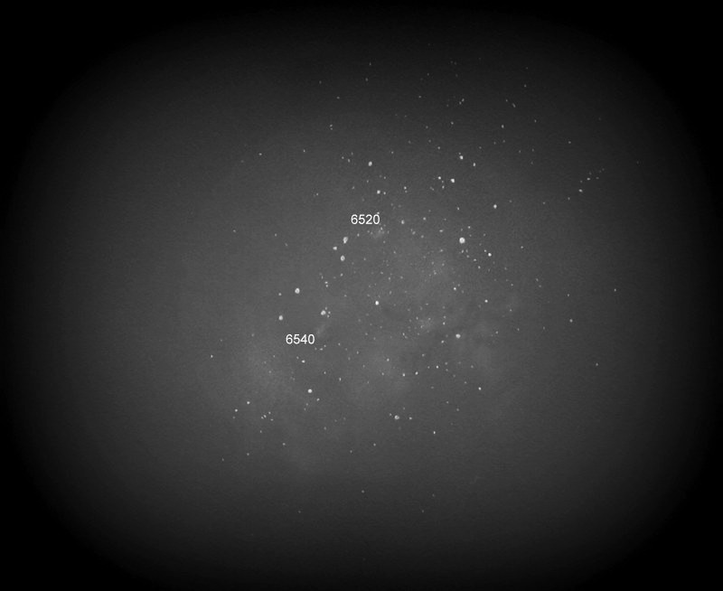 part of the large sagittarius cloud with the 90mm rfr at 16x