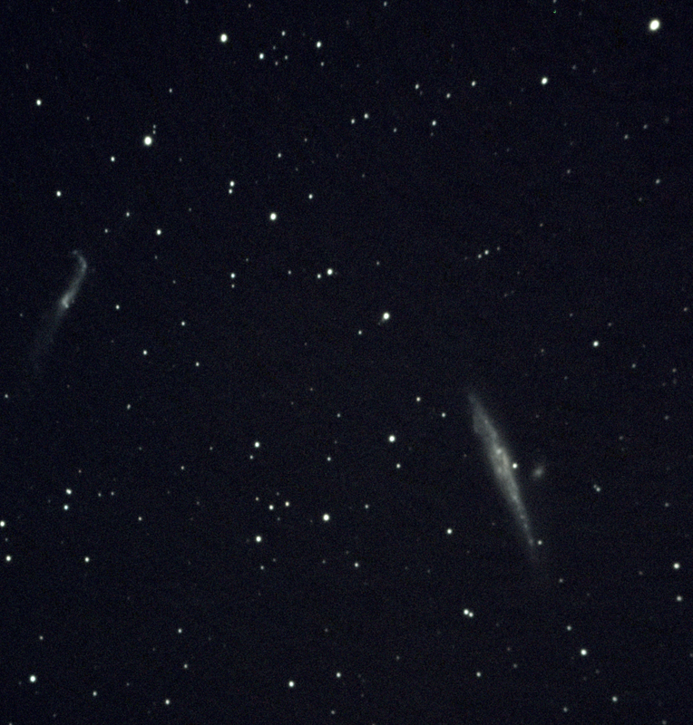Whale galaxy  NGC 4656 4657Stack 93frames 930s