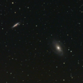 M82 M81 master Dark And Flat 80mm APO uvvis filter No FR Stack 61frames 610s
