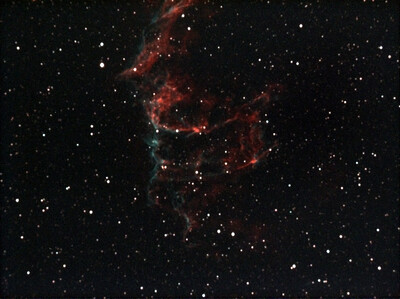 Eastern Veil Nebula 300s 10 3000s Lower Part W
