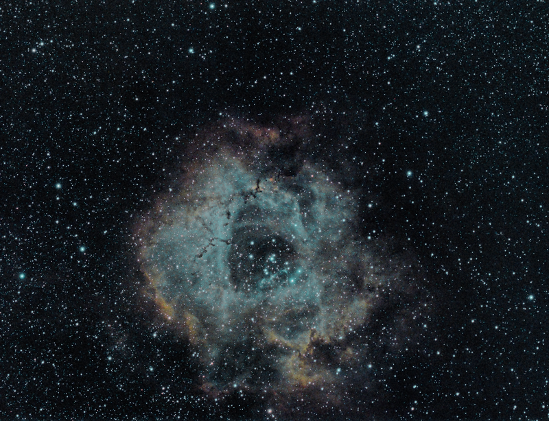NGC 2237 with L-enhance