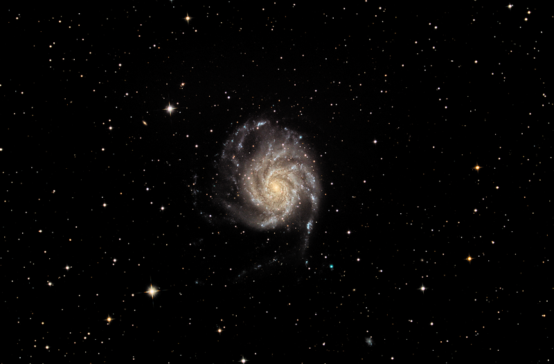 Image taken by the Elf - M101