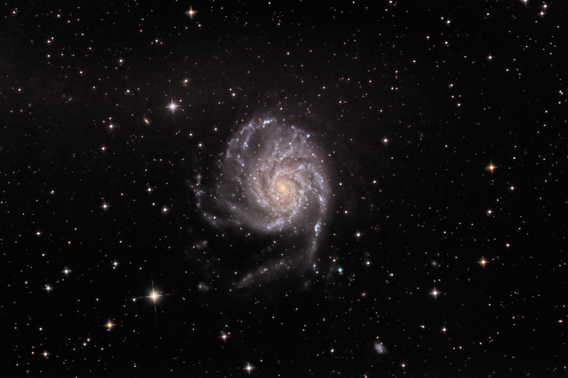 M101,Image taken by the Elf