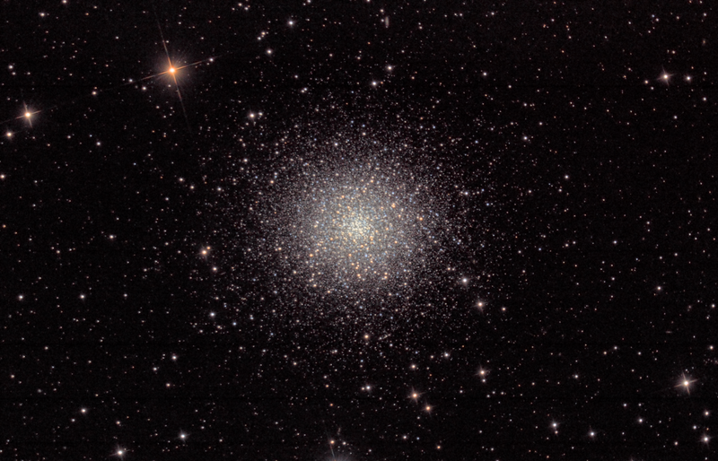 M13 picture taken by The Elf
