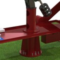 Imaging Flip Over Observatory - Render 06 - Upper Telescope Pier Can Be Rotated On Lower Pier For Alignment