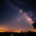 Milky Way over Afton - edited