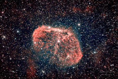 NGC 6888 Crescent Nebula L eNhance
