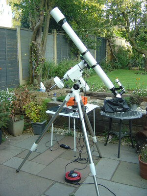 On a Skywatcher HEQ5/Pro