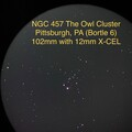 NGC 457 The Owl Cluster