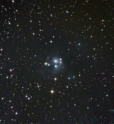 NGC 7129 Reflection Nebula