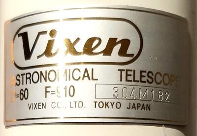 Vixen Custom 60mm (4)