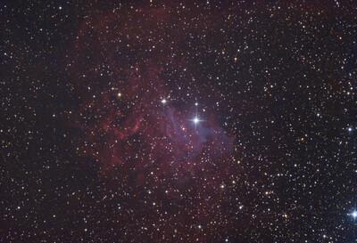 Flaming Star Nebula (IC 405)