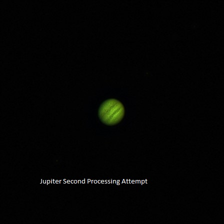 Jupiter Second Processing