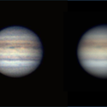 Jupiter With And Without Barlow 2x