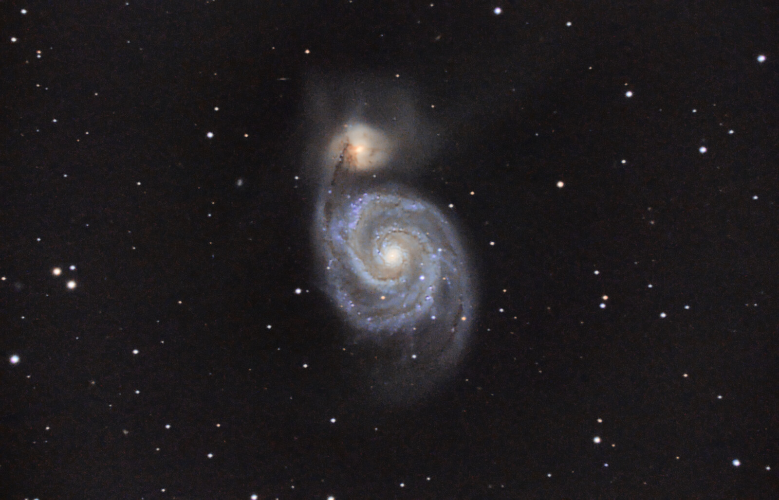 M51 4hr integration