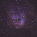 IC410 in H-alpha & Oiii
