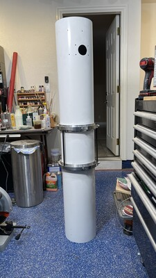 Rotating rings reassembly on tube
