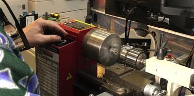 Drilling finder adjustment thumbscrews for Delrin tips