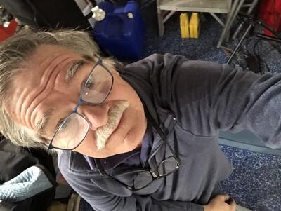 Pier stability test selfie!