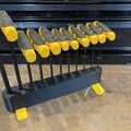 3D printed rack for Wiha imperial hex wrench set