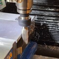 Milling the adapter plate edges