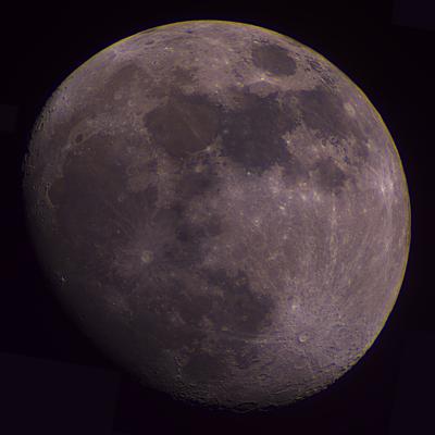 Moon mosaic captured 2020-12-26