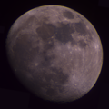 Moon mosaic captured 2020-12-26