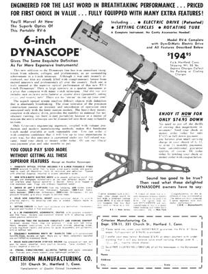 criterion Rv6 1960