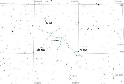ES 2644 near Lizard Asterism