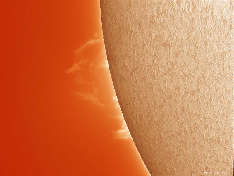 Prominence on Sept. 6, 2021